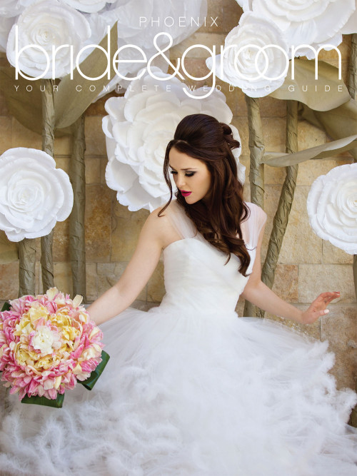 Phoenix Bride and Groom_Summer Fall 2014_Cover